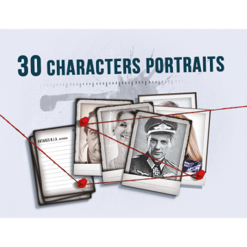Detective: 30 Character...