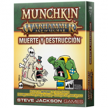 Munchkin: Muerte y...