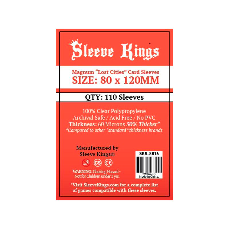 [8816] Sleeve Kings Magnum Dixit Card Sleeves (80x120mm)