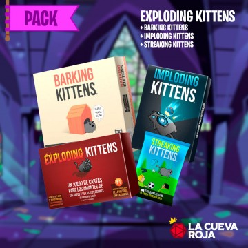 Pack Exploding Kittens